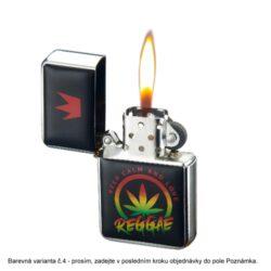 Benzínový zapalovač Champ Leaf(400236)