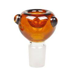 Skleněný bong s perkolací HH Amber, 37cm(448642)