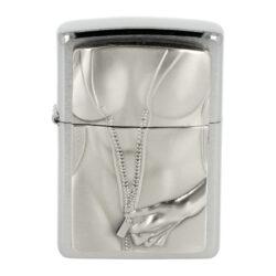 Zapalovač Zippo Zipper Girl, broušený(Z 147860)
