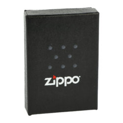 Zapalovač Zippo Ebony Logo, lesklý(Z 159080)