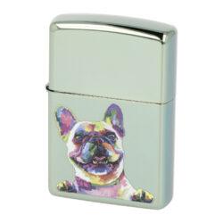 Zapalovač Zippo French Bulldog, leštěný(Z 151584)