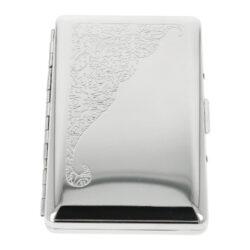 Cigaretové pouzdro Slim Chrome 100mm, 18cig.(10271)