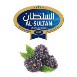 Tabák do vodní dýmky Al-Sultan Blackberry (8), 50g/Z-Tabák do vodní dýmky Al-Sultan Blackberry s příchutí ostružin. Tabáky Al-Sultan vyráběné v Jordánsku jsou známé svojí šťavnatostí, skvělou vůní, chutí a bohatým dýmem. Tabák do vodní dýmky je dodávaný v papírové krabičce po 50g.