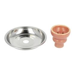 Vodní dýmka Round pink 55cm(40095)