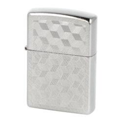 Zapalovač Zippo 3D Cubes, broušený(Z 254711.7)