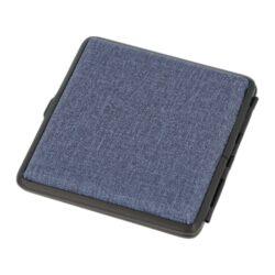 Cigaretové pouzdro Angelo modré s kapsičkou, 20cig(801444)