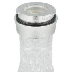 Vodní dýmka Aladin Alux M5 Silver 47cm(476391)