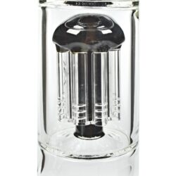 Skleněný bong s perkolací Blaze Glass Ice Tower, 56cm, black  (281822-35)