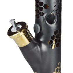 Skleněný bong Blaze Glass Ice Gold Straight, 45cm(261894)