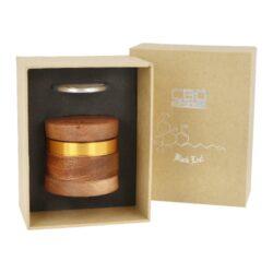 Drtič tabáku Black Leaf ALU/WOOD kovový, 60mm(430753)