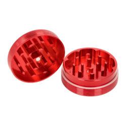 Drtič tabáku Black Leaf ALU Red kovový, 50mm(430120-28)