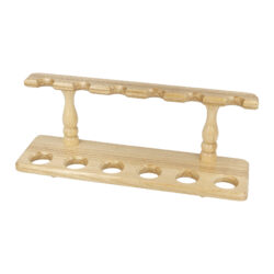 Stojánek na 6 dýmek BPK dřevěný, rovný(10-054)