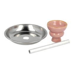 Vodní dýmka Round1 Pink 55cm(40091)