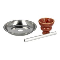 Vodní dýmka Round1 Red 55cm(40090)