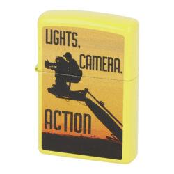 Zapalovač Zippo Camera Man, lesklý(Z 1400111S)
