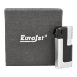 Dýmkový zapalovač Eurojet, černý(22201)