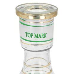 Vodní dýmka Top Mark Sokar zelená 53cm(002007)