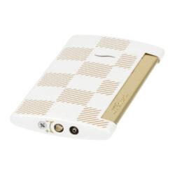Zapalovač S.T. Dupont Slim 7 Checkered white(261282)