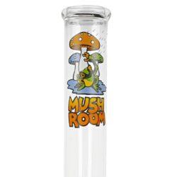 Skleněný bong Mushroom Frog, 40cm(02583)