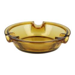 Doutníkový popelník skleněný 3D, smoked(11252)