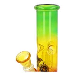 Skleněný bong s perkolací Conic RYG perc., 20cm(345024)