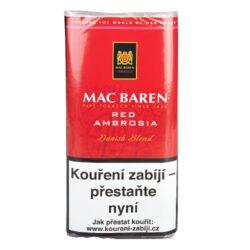 Dýmkový tabák Mac Baren Cherry Ambrosia, 50g-Velmi kvalitní a oblíbený dýmkový tabák Mac Baren. Vyvážená a chutná dýmková směs s menším množstvím tabáku Burley a převahou tabáku Virginie s velmi jemným a málo znatelným aroma. Balení pouch 50g.