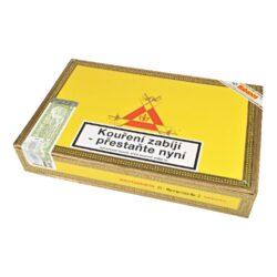 Doutníky Montecristo No 2, 25ks-Kubánské doutníky Montecristo No 2. Balené po 25 ks. Délka: 156mm, průměr: 20,6mm. Odběr po celém balení.