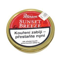 Dýmkový tabák Peterson Sunset Breeze, 50g-Kvalitní dýmkový tabák Peterson Sunset Breeze. Balení plechová krabička 50g.