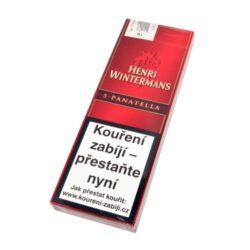 Doutníky Henri Wintermans Slim Panatela, 5ks-Doutníky Henri Wintermans Panatela. Doutníky jsou balené po 5 doutnících v papírové krabičce. Délka 127mm, průměr 8,7mm. Balení: 5 ks krabiček.