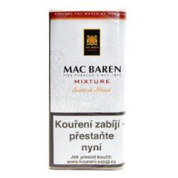 Dýmkový tabák Mac Baren Mixture, 50g-Dýmkový tabák Mac Baren Mixture. Vyvážená dýmková směs tabáku Burley, Virginie a Cavendishe s lehkým příjemným aroma. Balení pouch 50g.