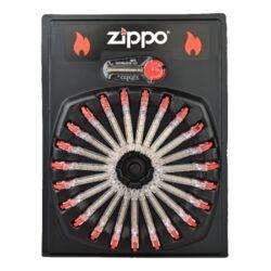 Kamínky do zapalovače Zippo Flint-Kamínky do zapalovače Zippo. Originální kamínky Zippo Flint do benzínových zapalovačů, které zná celý svět. Jedno balení - plastový zásobník obsahuje 6 ks kamínků do zapalovače. Cena uvedena za jedno balení.