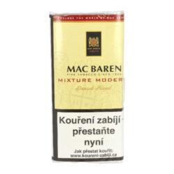 Dýmkový tabák Mac Baren Mixture Modern, 50g-Velmi kvalitní a oblíbený dýmkový tabák Mac Baren. Jemně sladká dýmková směs z virginských tabáků, jemného červeného Cavendishe a ostře řezaného Burley, která neštípe na jazyku. Balení pouch 50g.