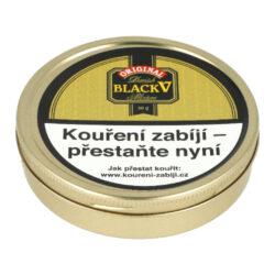 Dýmkový tabák Danish Black Vanilla, 50g-Dýmkový tabák Danish Black Vanilla. Jemnější tabáková směs vyrobená z dvaceti odrůd virginských tabáků namíchaná spolu s tabákem Burley. Namíchaný tabák se nechává fermentovat a dostatečně dozrát. Díky tomu získá velmi příjemnou chuť a vůni. Poté je směs jemně ochucena vanilkou z Madagaskaru. Tabák je velice jemný s velmi mírným aroma a dobře prohořívá. Balení plechová dóza 50g.