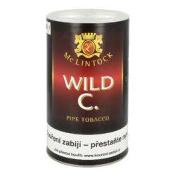 Dýmkový tabák McLintock Wild Cherry, 100g-Dýmkový tabák McLintock Wild Cherry. Tabáková směs světlého virginského tabáku spolu s dvakrát fermentovaným tabákem Cavendish, který doplňuje kořeněný řecký Orient. Touto kombinací vznikne jemná směs, mírně sladká, aromatizovaná divokými třešněmi, která je vhodná pro každodenní kouření. Balení plechová dóza 100g.