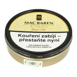 Dýmkový tabák Mac Baren Vanilla Cream, 100g-Dýmkový tabák Mac Baren Vanilla Cream. Směs z vybraných druhů zralého tabáku Virginie a jemného černého Cavendishe s velmi příjemným vanilkovým aroma a sladkou chutí. Balení plechová krabička 100g.