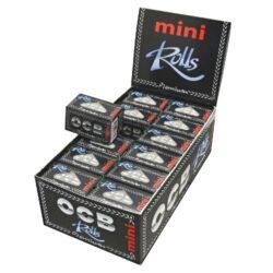 Cigaretové papírky OCB Rolls Mini-Cigaretové papírky OCB Rolls MINI. Délka 4 m, šířka 36 mm. Prodej pouze po celém balení (displej) 24 ks.