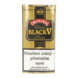 Dýmkový tabák Danish Black Vanilla, 40g-Dýmkový tabák Danish Black Vanilla. Jemnější tabáková směs vyrobená z dvaceti odrůd virginských tabáků namíchaná spolu s tabákem Burley. Namíchaný tabák se nechává fermentovat a dostatečně dozrát. Díky tomu získá velmi příjemnou chuť a vůni. Poté je směs jemně ochucena vanilkou z Madagaskaru. Tabák je velice jemný s velmi mírným aroma a dobře prohořívá. Balení pouch 40g.