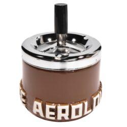 Cigaretový popelník otočný Aerolounge, keramický-Cigaretový popelník otočný Aerolounge. Samozhášecí popelník na cigarety je keramický, průměr 10cm. Cena je uvedena za 1 ks. Před odesláním objednávky uveďte číslo barevného provedení do poznámky.