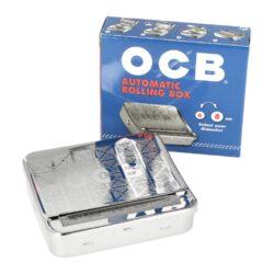 Rolovačka (balička) cigaret OCB kovová - kombajn-Kovová cigaretová rolovačka cigaret (balička cigaret) - tzv. kombajn. Cigaretová balička umožňuje balit cigarety o průměru 6 nebo 8mm.