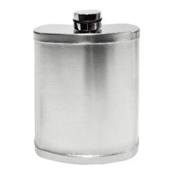 Placatka nerezová s pohárky, 200ml(49020)