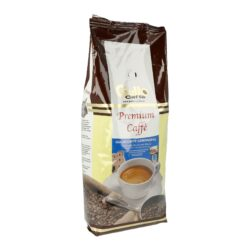 Caffé Gullo Premium, 1kg-Zrnková italská káva Gullo Caffé Premium. Pro tuto kávu Gullo se vybírají zrnka Arabica a Robusta a mísí se podle zvláštní receptury se zvláštní péčí. Jemné a lehké pražení dodávají Gullo Premium Caffé jemnou a přetrvávající vůni, která je zakončena jemnou kávovou pěnou. Gullo Premium Caffé je vhodné zejména pro přípravu klasické kávy nebo mléčné kávy. Balení obsahuje 1 kg kávy.