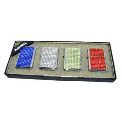 Zapalovač AngelXX Turbo Crystal-Žhavící zapalovač. Zapalovač je plnitelný. Cena je uvedena za 1 ks. Před odesláním objednávky uveďte číslo barevného provedení do poznámky.