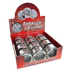 Drtič tabáku, kovový s okénkem(34080)