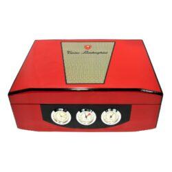 Humidor na doutníky Lamborghini červený(91801)