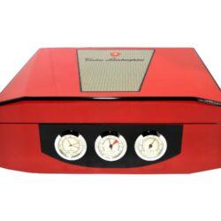 Humidor na doutníky Lamborghini červený 40D, stolní(91801)
