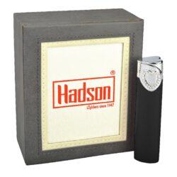 Dámský zapalovač Hadson Heart, černý, bílé srdce(10291)