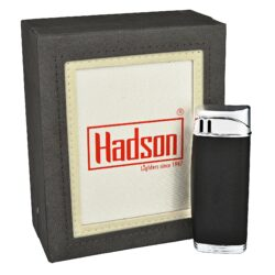 Zapalovač Hadson Solid, černý(10451)