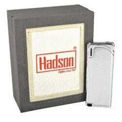 Zapalovač Hadson Slim, chrom, káro(10516)