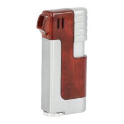 Dýmkový zapalovač Winjet-Dýmkový zapalovač. Obsahuje integrované dusátko. Dýmkový zapalovač je plnitelný a je dodáván v dárkové krabičce. Výška 7cm.
