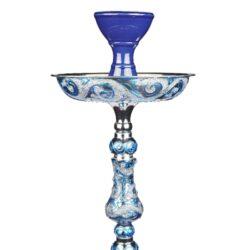 Vodní dýmka Alqariab Tulip 85cm modrá(SJR03)